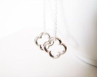 Clover Earrings - Silver