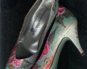 Handpainted Dancing Wilde Roses Shoes