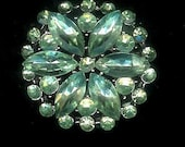 Awesome Paste Rhinestone Flicker of Light Green Lights