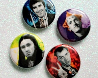 BOOM SHANKA. The Young Ones. pinback button or magnet set by Kymm! Bang