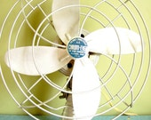 Chrome Electric Table Fan Oscillating VINTAGE AWESOMENESS