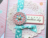 Mother's Day Card with Matching Embellished Envelope - Sweet Spring