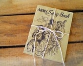 CLEARANCE - vintage army song book