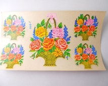 Duro Decal- Flower Bouquets in Baskets