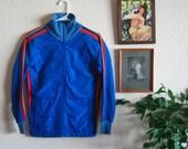 SALE 70's Rainbow Track Jacket - M-L