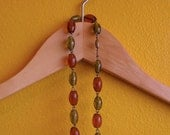 Harvest Glass Bead Necklace