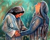 Jump For Joy -Mary and Elizabeth