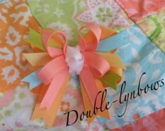 Toddler bow M2M Janie and Jack Patchwork Breeze Made by Double-lynbows