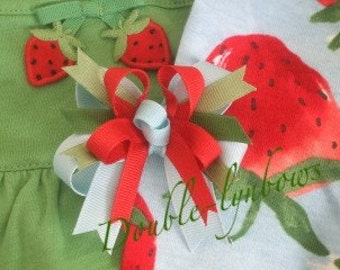 Toddler bow M2M Gymboree Burst of Spring from Double-lyn bows