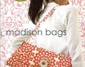 SALE!! FREE SHIPPING madison bags pattern by amy butler