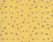 1/2 yd. daisies, yellow