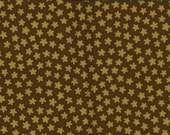 SALE 1/2 yd. dotted flower - olive (timeless treasures)