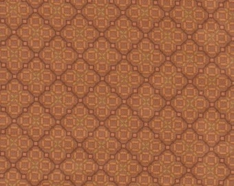 1\/2 yd. daylily tiles, cocoa