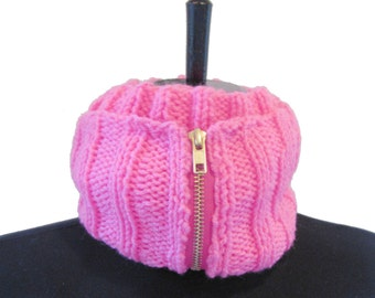 Sale - Hot Pink Neckwarmer
