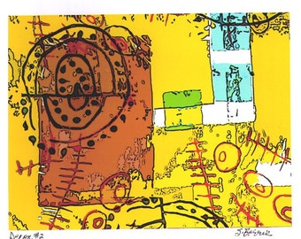 Archival Digital Print of Original Screenprint - Decon 2