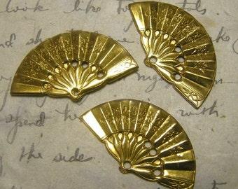 Brass Fan findings (3)