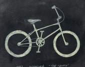 1982 Schwinn The Sting BMX PRINT