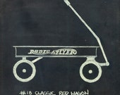 Red Wagon  PRINT