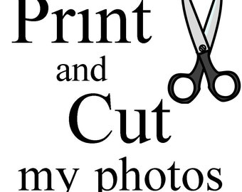 Print & Cut Your Locket Photos