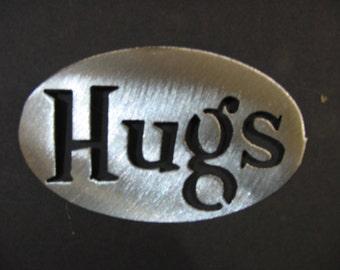 HUGS  Magnet- holds 5lbs  Fridge Locker Steel door Decorative useful small gift item