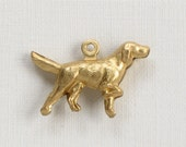 5 DOG jewelry charm . Double Sided .  12mm x 20mm (S26).