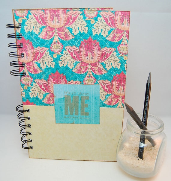 Daily Weekly 2012 2013 Planner Large - It's All About Me (Revisited)