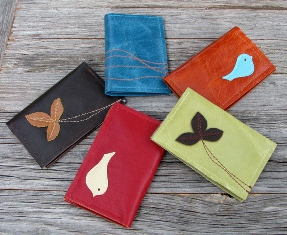 Design Your Own - Leather 4 Pocket Card Wallet