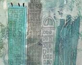 Sing Up the Stars - Blackbirds Fine  Art Print