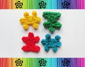 PATTERN - Crochet Puzzle Pieces Applique - Great for Autism Awareness