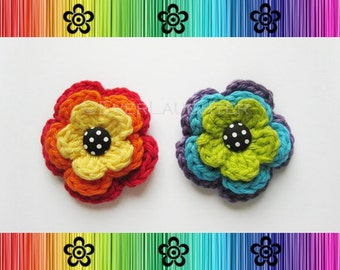Crochet Piper Posy - PDF PATTERN