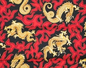 Red Flame Dragon Bandana