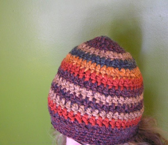 Free Crochet Pattern Multi Colored Hat : Zac Brown Band Crochet Amethyst Multi colored Hat for by ...