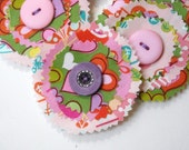 Hearts and Flowers Roundies