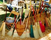 Kid size corn broom, teach them young, kids love to help mom & dad do work. smaller model of my bigger brooms