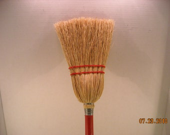 Children size corn broom, teach them young, kids love to help mom & dad do work. smaller model of my bigger brooms