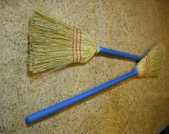 Two chocie of Color Children size corn broom, teach them young, kids love to help mom & dad do work. smaller model of my bigger brooms
