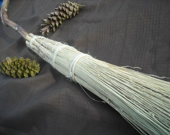 Full size witchcraft/ Wicca/ Pagan Besom or Broom Ritual tool Spirituality connection with Nature Fun Item