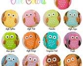 Owl Cookies - 48 Decorated Sugar Cookie Favors