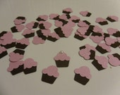 Cupcake Confetti (Custom Colors/patterns) (50 pieces)