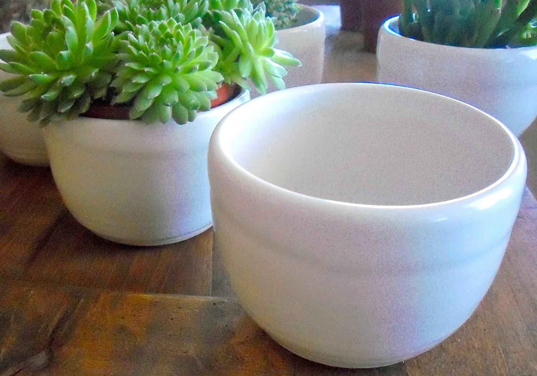 ceramic planter flower pot indoor outdoor by. Black Bedroom Furniture Sets. Home Design Ideas