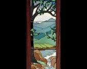 Tiffany-Style Tree - Spring Unframed