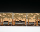 Woodland Set - Arts and Crafts Palette