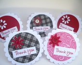 Small Thank you cards-set of 5