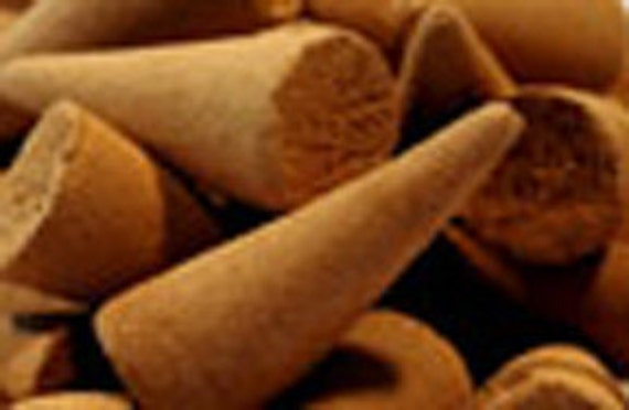 Real Hand Rolled Cinnamon Incense Cones