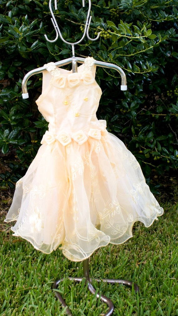 Light yellow dress  12 TO 24 months -- on sale