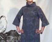 brocade fabric-go go dress
