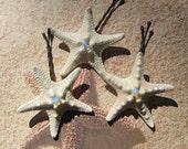 Opalite Stars - Starfish Bobby Pins