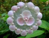 Seashell Holiday Ornament or Wedding Favor