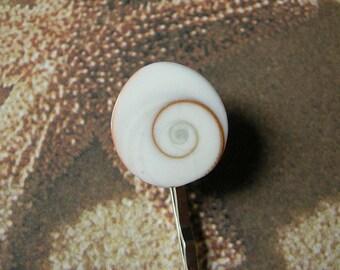 Seashell Bobby Pin - Shiva Eye