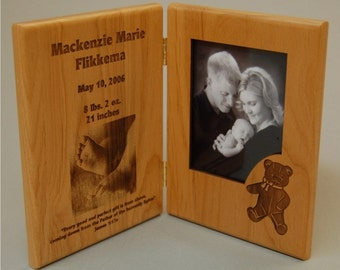 50% OFF,  Plaques, Greeting Card, Photo Greeting Card, Wood, Personalized Engraving